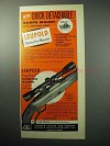 1958 Leupold Ad - Detacho-Mount; Hunting Scope