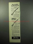1958 Mossberg 342; 352 Rifle Ad - How in the World?