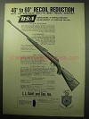 1957 BSA Rifle Ad - Recoil Reduction