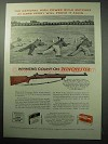 1957 Winchester Model 70 Rifle Ad - Matches Camp Perry