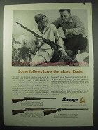 1957 Stevens 87, 15 Rifle; Savage 29, 6 Deluxe Rifle Ad