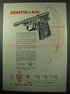 1957 Beretta Minx M4 Pistol Ad - Beretta Is Better