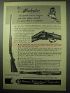1956 F.I. Ad - Aya Matador Double Barrel Shotgun