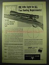 1956 Bausch & Lomb BALvar 8 Scope Ad - One for All