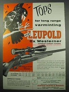 1956 Leupold 8x Westerner Scope Ad - Varminting