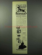 1956 Redfield Sight Ad - 70, Sourdough Patridge, 80