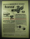 1956 Redfield International Match Receiver Sights Ad