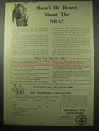 1956 National Rifle Association NRA Ad - Hasn't Heard?