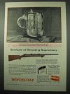 1956 Winchester Model 70 Target Rifle Ad - Supremacy