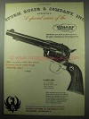 1956 Ruger Single-Six Revolver Ad - Special Series