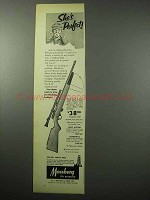 1956 Mossberg 142K Rifle Ad - She's Perfect