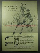 1956 Colt Revolvers and Pistols Ad - Change-Over