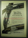 1956 Browning Shotgun Ad - Automatic-5; Superposed +