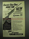 1956 Crosman Series 180 Pellgun Ad - More Fun