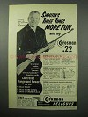 1956 Crosman Model 160 Pellgun Ad - Shootin's Fun
