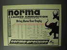 1956 Norma Loaded Ammunition Ad!