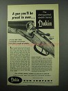 1956 Dakin Model 100 Shotgun Ad - You'll Be Proud