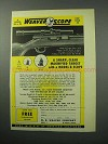 1956 Weaver B4 Scope Ad - Clear Magnified Target