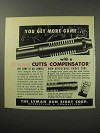 1956 Lyman Cutts Compensator Ad - Get More Game