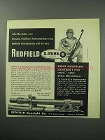 1957 Redfield X-Tube Ad - John Moschkau Won