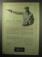1955 National Rifle Association NRA Ad - Always Season
