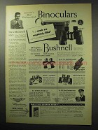 1955 Bushnell Binoculars Ad - Needs Completely Filled