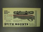 1955 Stith Dovetail Mount Ad