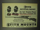1955 Stith Dovetail Mount Ad - Does a Custom Job