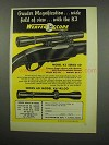 1955 Weaver Series 60 K3 and K4 Scope Ad - Greater