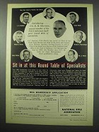 1954 National Rifle Association NRA Ad - Round Table