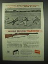 1954 Winchester Model 70 Target Rifle Ad - Camp Perry