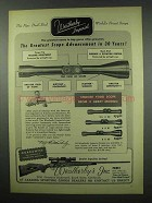 1954 Weatherby Imperial Scope Ad - Advancement