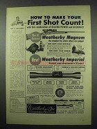 1954 Weatherby Magnum Rifle; Imperial Scope Ad