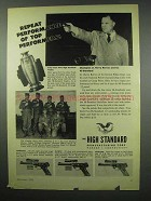 1954 Hi-Standard Gun Ad - Supermatic Olympic Field-King