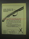 1954 Ithaca Gun Featherlight Repeater Ad - Protection