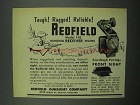 1954 Redfield Model 102 Hunting Receiver Sight Ad