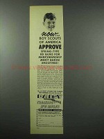 1953 Daisy BB Rifle Ad - Boy Scouts of America Approve