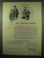 1953 National Rifle Association NRA Ad - Opportunity