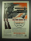 1953 Winchester Varmint Rifle Ad - Model 70 and 43