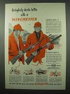 1953 Winchester Model 70 and 94 Rifle Ad!
