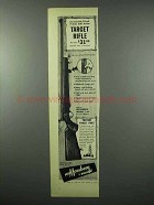 1953 Mossberg Model 144 Target Rifle Ad - Accurate