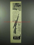 1953 Mossberg Model 142K Rifle Ad - She's Perfect