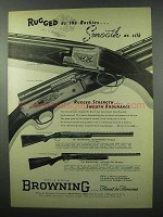1953 Browning Shotgun Ad - Superposed Grade II, I +