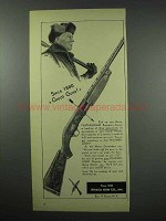 1952 Ithaca Featherlight Repeaters Ad - Great Guns!