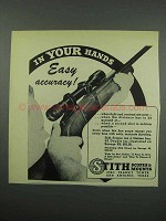 1952 Stith Scope Ad - In Your Hands Easy Accuracy