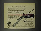 1952 Weatherby De Luxe Rifle Ad - America's Finest