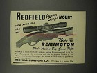 1952 Redfield Junior Scope Mount Ad