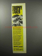 1970 Weaver Model K Scope Ad - Trophy Taker
