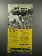 1970 Weaver Model K Scope Ad - Shoot More Accurately