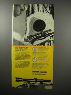 1970 Weaver V22 and D4 Scope Ad - Larger, Lighter
